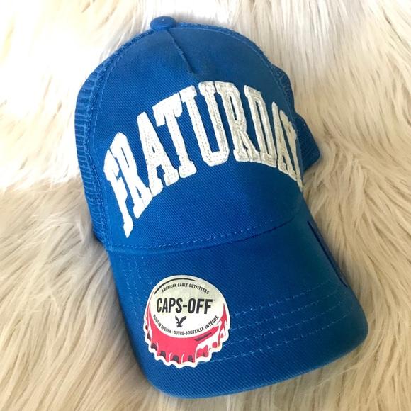 "American Eagle Baseball Hat ""Fraturday"" snapback 56c852041989"